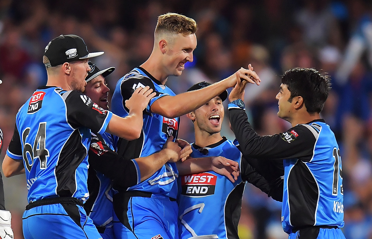 Strikers scooped up in IPL auction   Adelaide Strikers - BBL